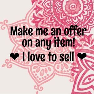 All offers appreciated....